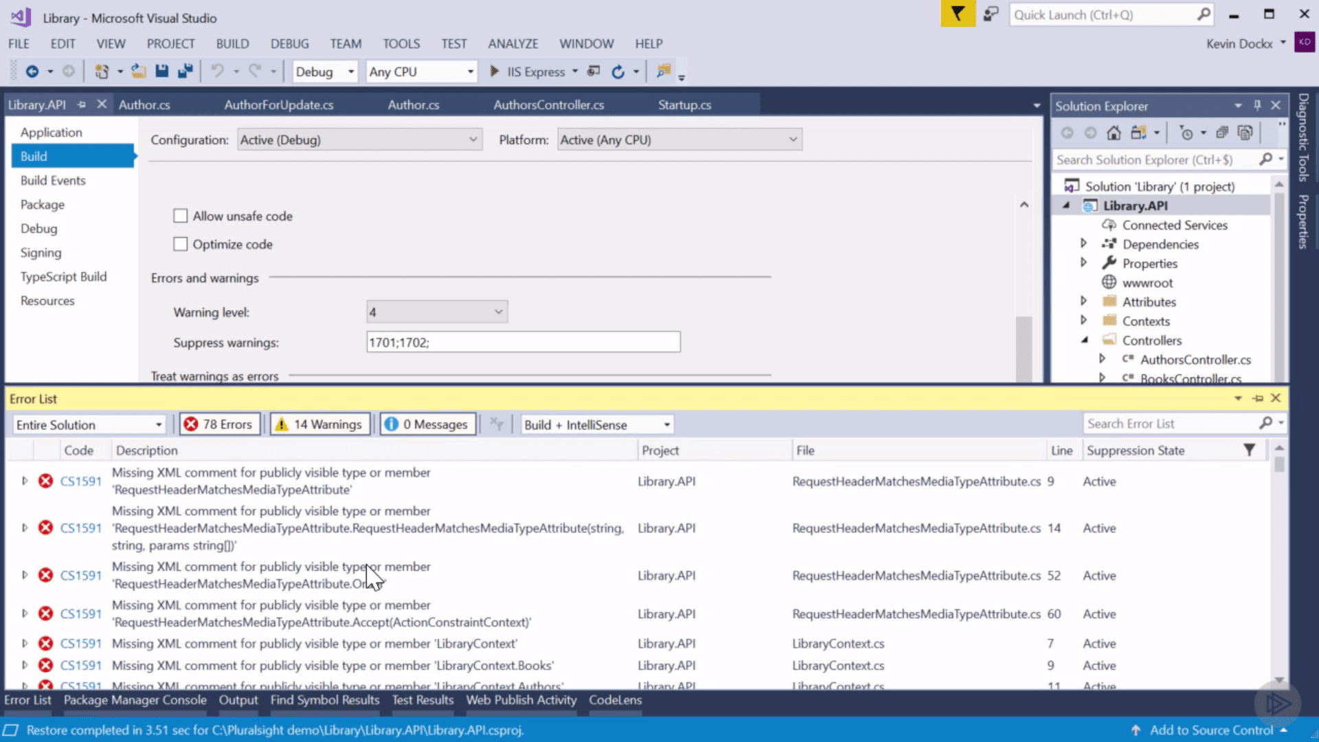 Documenting an ASP.NET Core API with OpenAPI Swagger snapshot (1)